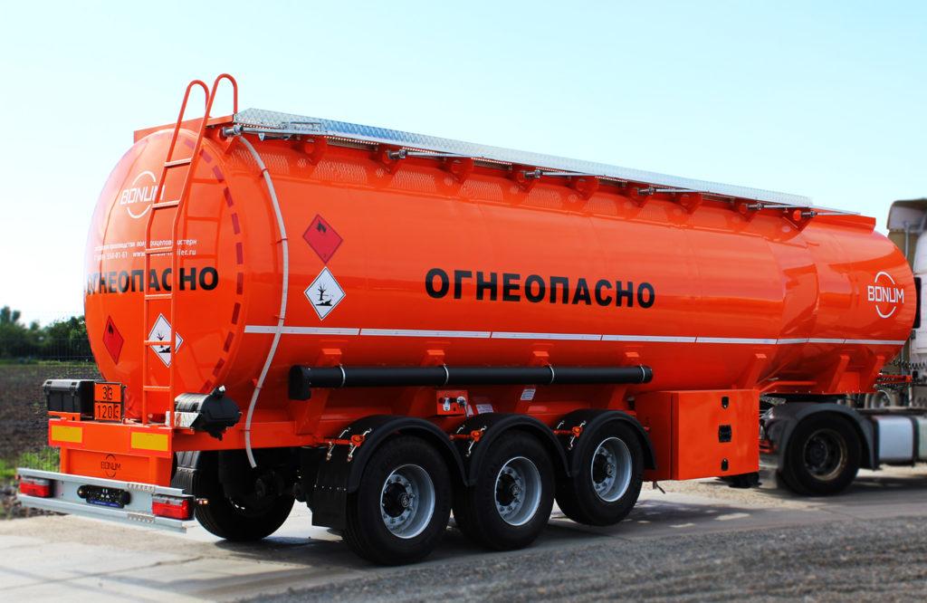 Бензовоз Bonum 45 кубометров
