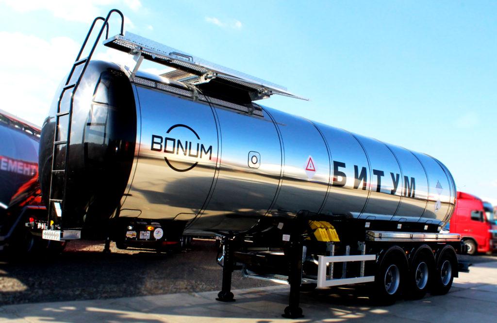 Полуприцеп-битумовоз Bonum 36 кубометров