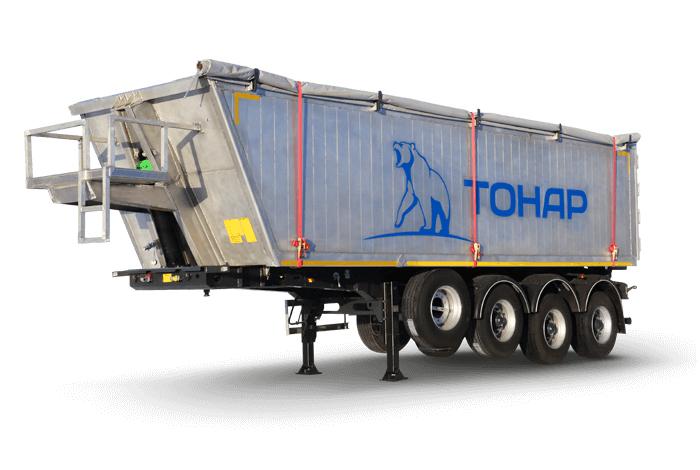 Самосвальный зерновоз Тонар-9523 алюминиевый