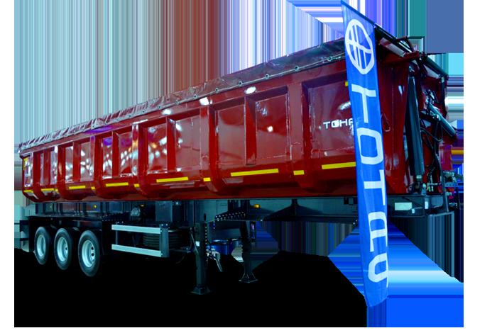 Самосвальный полуприцеп с боковой разгрузкой Тонар-952362